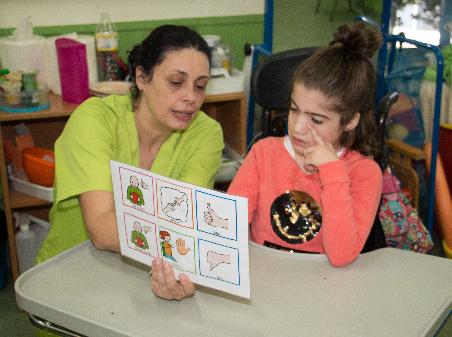 Colegio de Educación Especial para niños con parálisis cerebral AMENCER ASPACE en Pontevedra