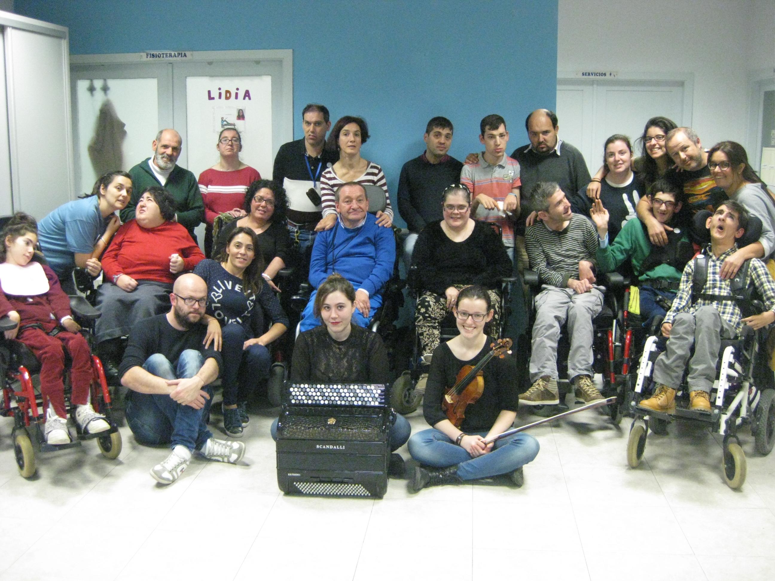 Centro de día AMENCER ASPACE para personas con parálisis cerebral