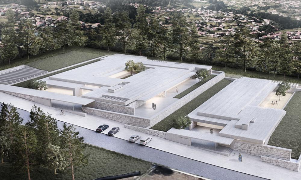 Instalaciones del Centro de Educación Especial de AMENCER ASPACE en Vigo
