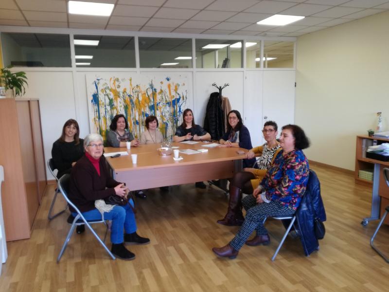 Actividades del servicio de atención a familias de personas con parálisis cerebral de AMENCER Aspace