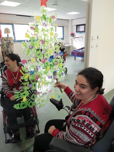 Personas con parálisis cerebral en la Asociación AMENCER ASPACE