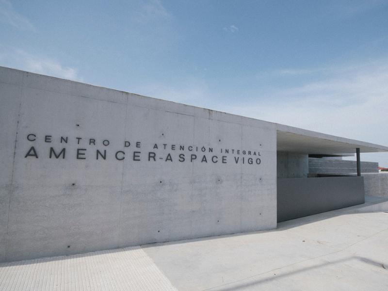 Centro Atención integral AMENCER ASPACE en Vigo