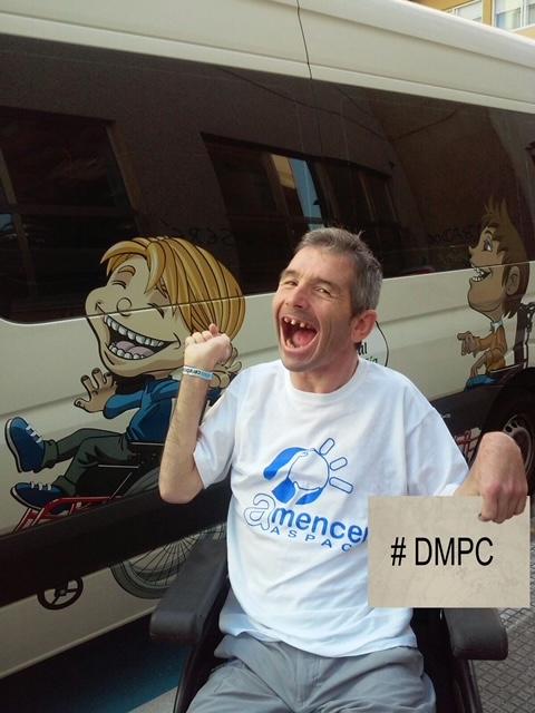 Actividades en el centro de día para personas con parálisis cerebral de AMENCER Aspace en Pontevedra