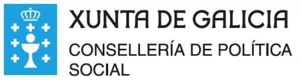 Logotipo Consellería de Política Social. Xunta de Galicia